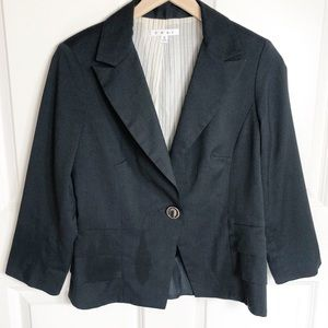 CAbi Blazer style 230 size 6 gray blue color